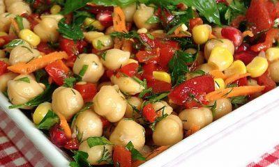 Nohut salatası