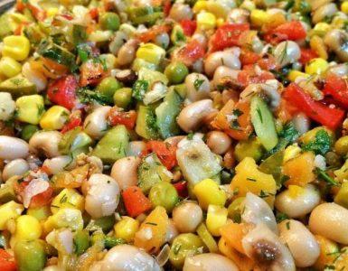 rengarenk borulce salatasi