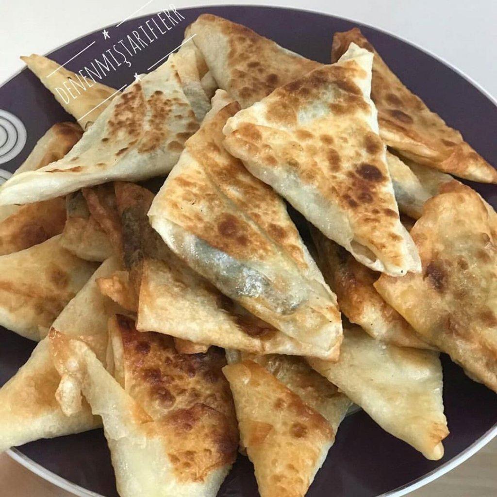 Ispanaklı muska böreği 1