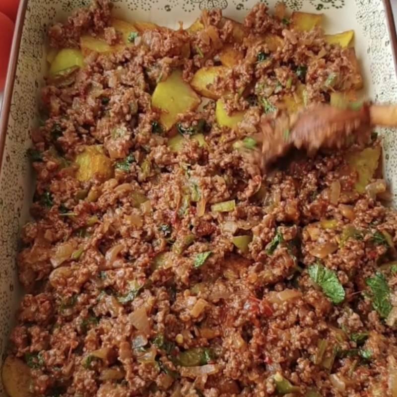 kabak ve patatesli oturtma ana yemek