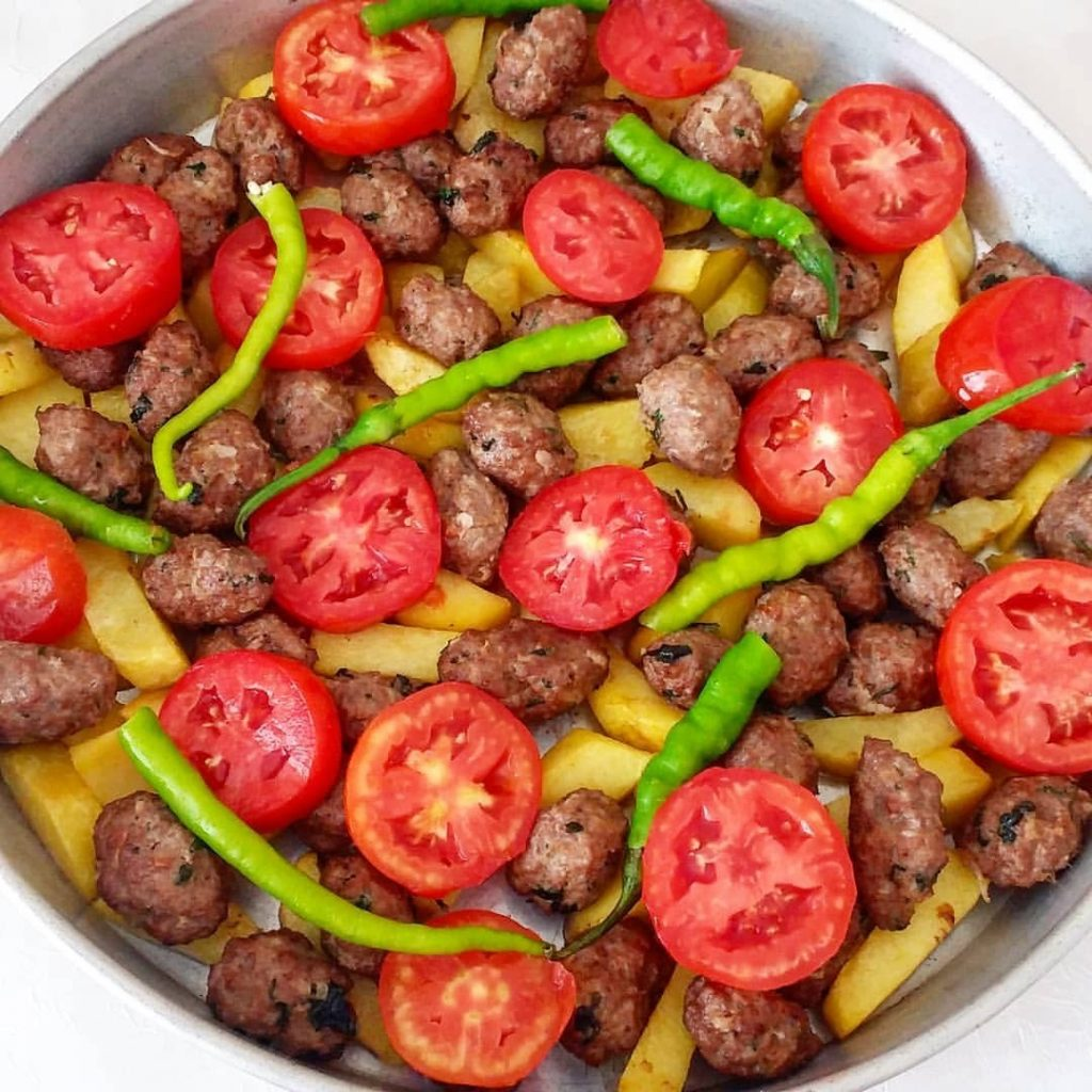 Köfte patates