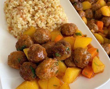 firinda-sebzeli-misket-kofte