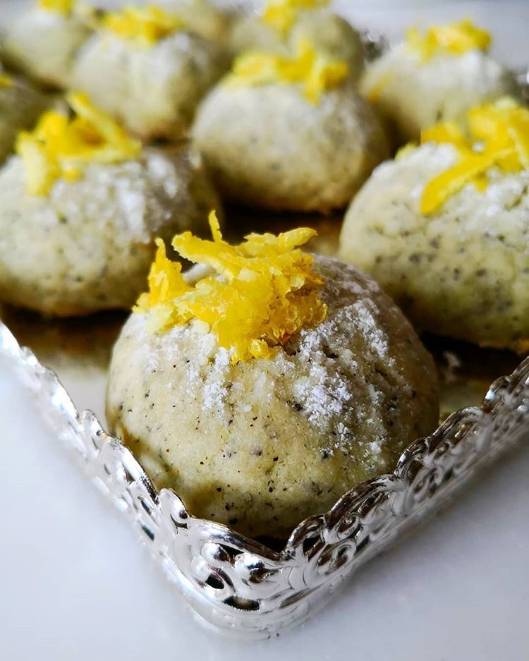 limonlu cayli kurabiye