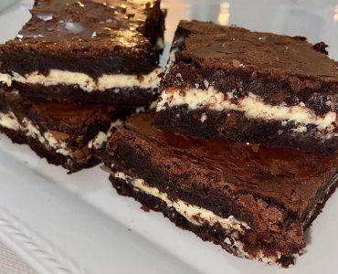 Beyaz Çikolatalı Brownie