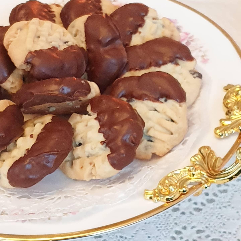 Damla çikolatalı kurabiye 1