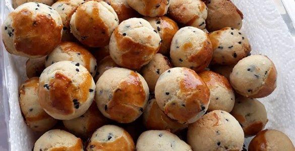 Pastane usulü tuzlu kurabiye