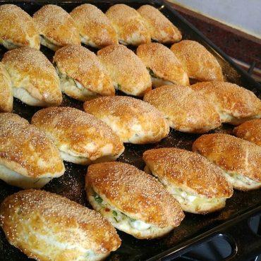 Patatesli peynirli poğaça