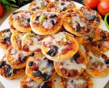 Lokmalık Mini Pizza
