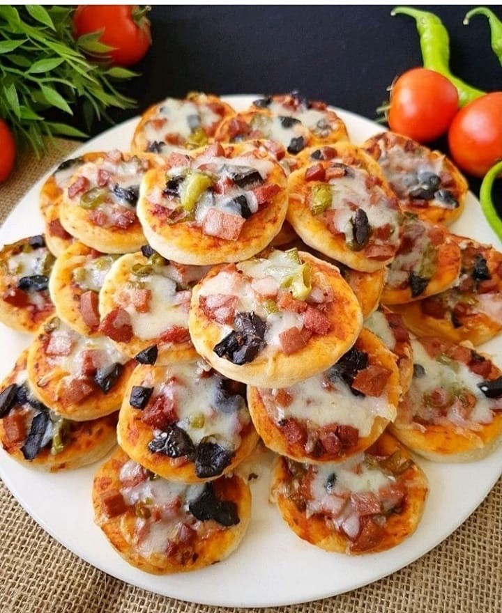 Lokmalık Mini Pizza