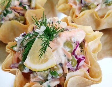 Çanakta Salata