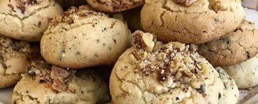 Çaylı ve kahveli kurabiye