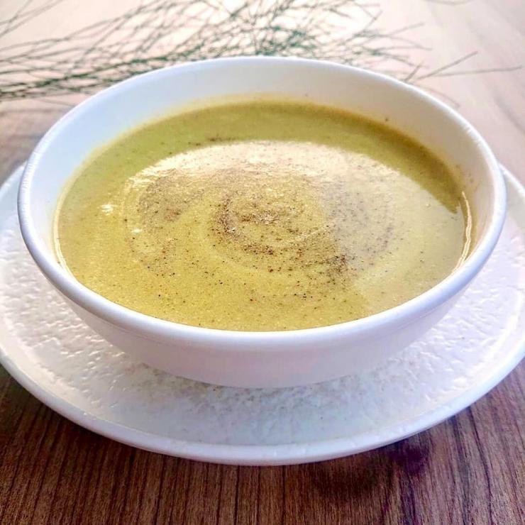 Vitamin Deposu Sütlü Brokoli Çorbası