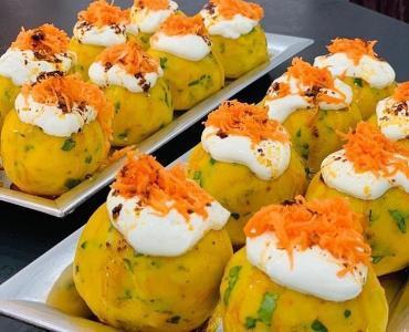 Havuçlu patates topları