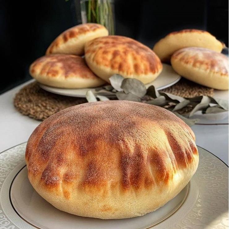 Meşhur Balon gibi Kabaran Pita ekmeği