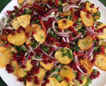 Sarımsaklı Patates Kızartması