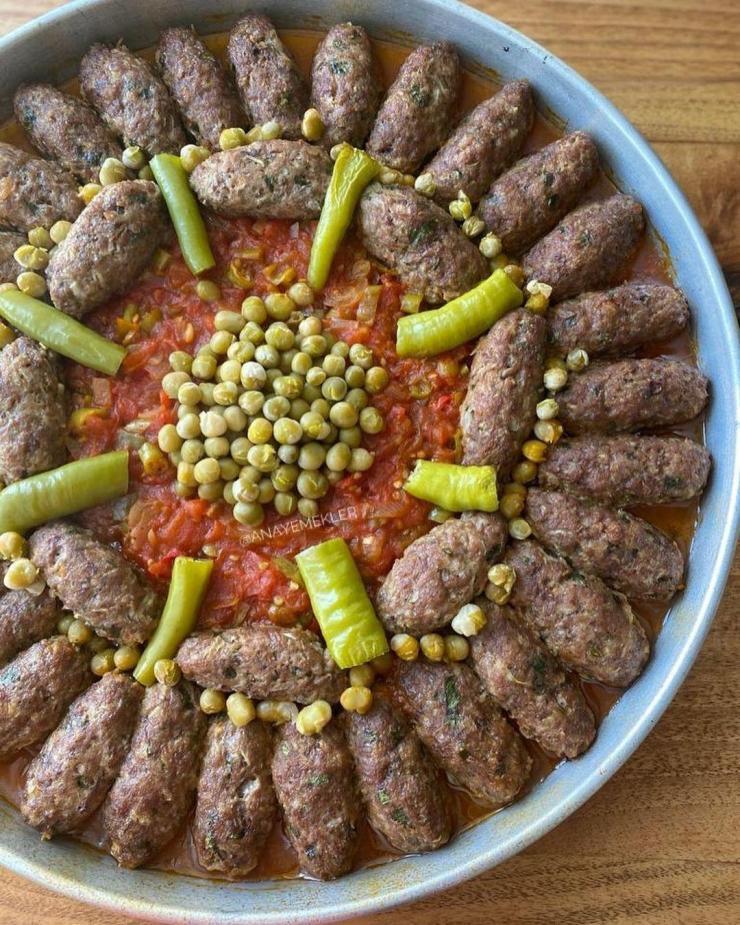 Fırında Köfte Kebabı